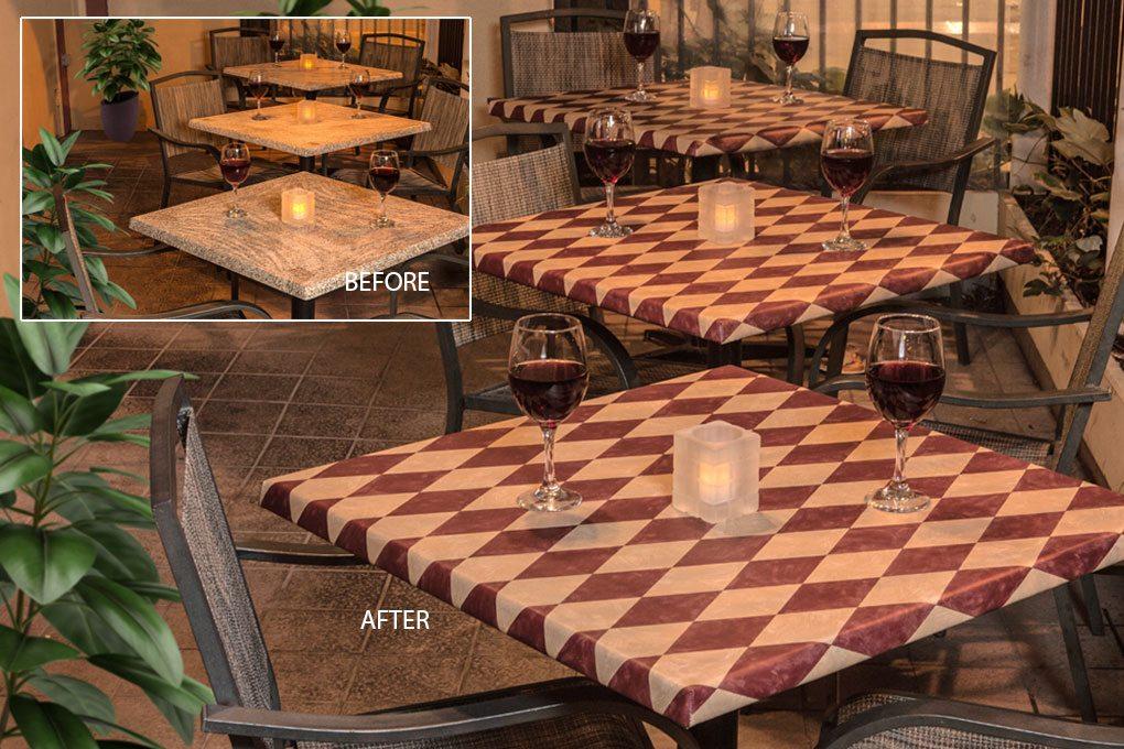 9829 classic lasagna vinyl tablecloth