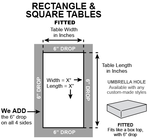 Rectangle square fitted