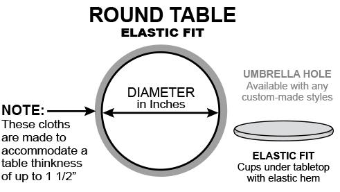 Round elastic fit