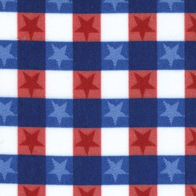 1226 stars red white & blue med