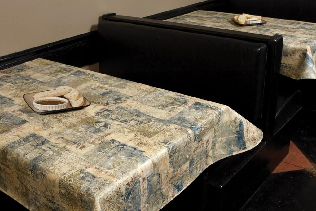 14 6117 premium vinyl malago moss tablecloth