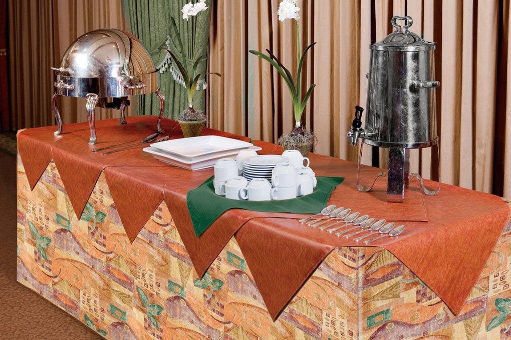 17 6120 premium vinyl tablecloth 9820 flambe overlay