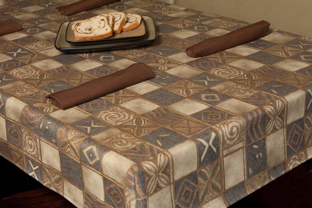 19 6124 premium vinyldakota tablecloth