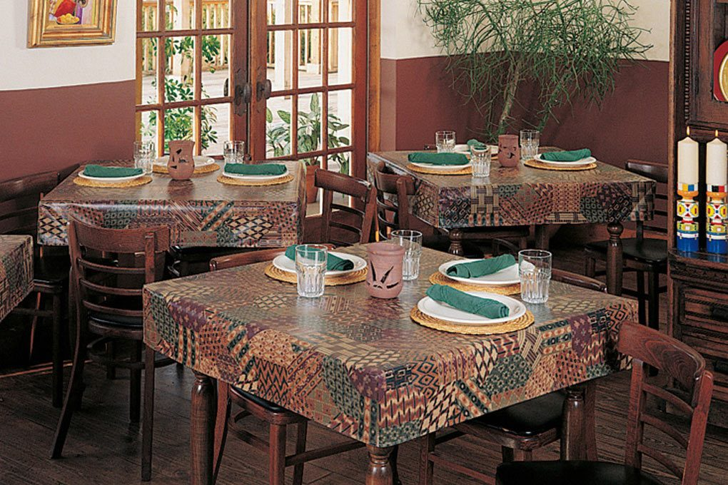 26 customer material americlear tablecloth