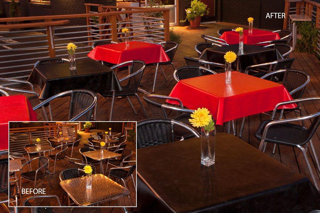 7101 value vinyl scarlet coal tablecloth