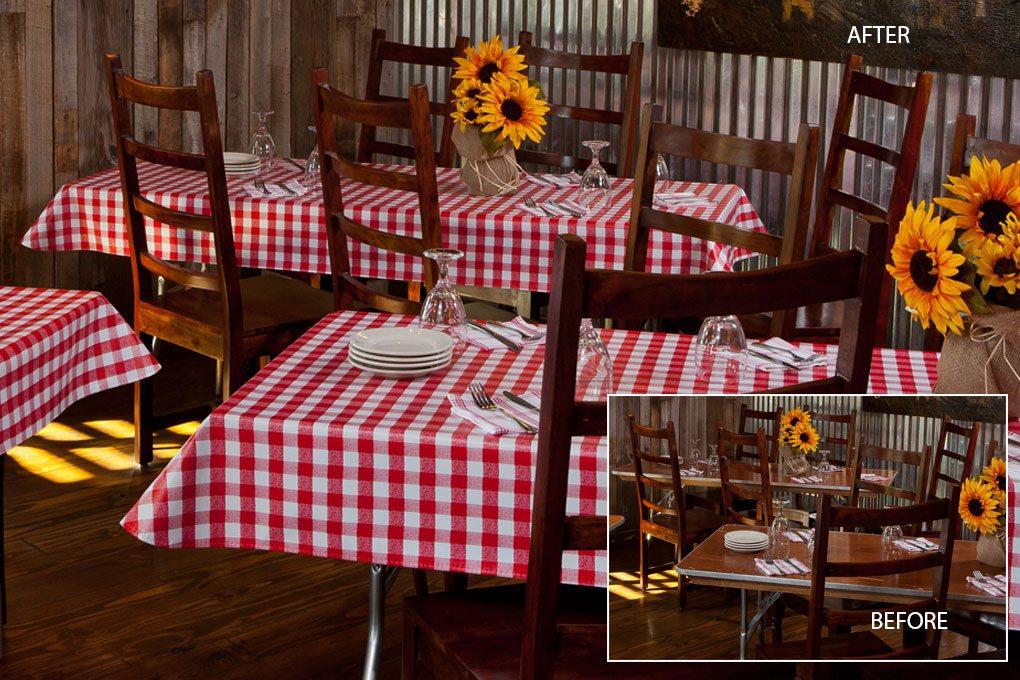 7103 value vinyl crimson tablecloth