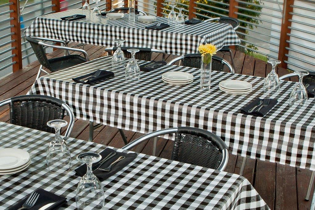 7103 value vinyl jet black tablecloth