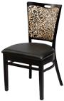 Chair 6115 ebony 2126 black onyx sm