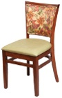 Chair 6116 oat 6122 hibiscus sm